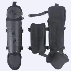 Policía Militar de la pierna Shin guardia con la rodilla flexible