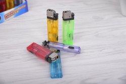 Accendino a gas ricaricabile da 8,0 cm 6 con LED