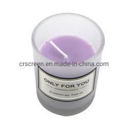 女性の母ギフトのためのガラス蝋燭の瓶ホーム香料入りの蝋燭の