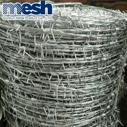 Hot Sale ou galvanisé recouvert de PVC pour la clôture de barbelés