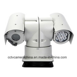 30X 2.0MP 150m véhicule de patrouille de vision nocturne caméra PTZ