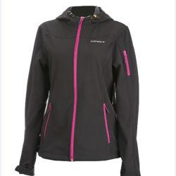 Для использования вне помещений при ношении спорта женщин куртка