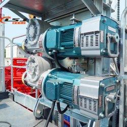 Moteurs doubles du système de mécanisme de transmission de la conduite de la construction d'un palan ou un passager d'un palan Pièce de rechange