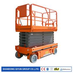 Relevage hydraulique Qiyun Ciseaux de sécurité et la protection léger 6M 380kg/550kg ciseaux Tables élévateur hydraulique automoteur