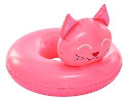 PVC OEM bébé animal piscine gonflable nager de bague de col