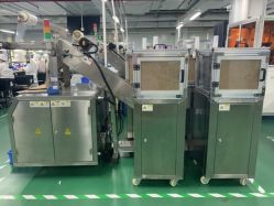 Lopende band Multi - de Materiële Voorbereiding van de Functie en Verpakkende Apparatuur
