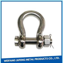 カスタマイズされたステンレス鋼安全ピンの304/316個の弓手錠