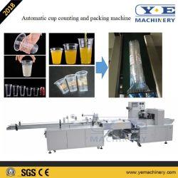 Автоматическая пластиковой чашки подсчета упаковочные машины
