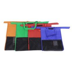 4 ПК Эко складные тележки брелоки продовольственные тележки для хранения