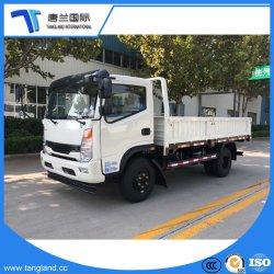 Camion/LCV/véhicule commercial/4*2Entraînement de roue/Scanner à plat/lit plat de la boîte de chargement de camions légers