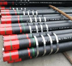 Tubo de acero sin costura en API 5CT Pnu de yacimientos petrolíferos, la carcasa del tubo de acero L80 P110 N80q Eue Nue