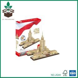 De hete Puzzel van het Stuk speelgoed van de Jonge geitjes van het Ontwerp van de Bouw van de Verkoop 3D Model Aangepaste