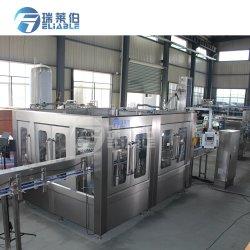 Instalação completa de bebidas carbonatadas automática máquina de enchimento de engarrafamento de cola
