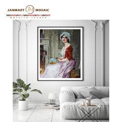 Mosaïque de verre décoratif décoration murale mosaïque personnalisée modèle personnalisé Collage murs de la salle de bains Art Mosaïque