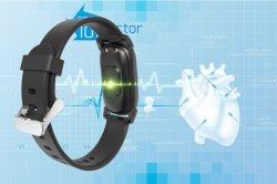 De nieuwe Slimme de aanraking-Sleutel van het Horloge LEIDENE van de Maatregel van de Temperatuur van het Lichaam Vertoning van het Scherm Smartwatches