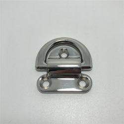 El anillo D de acero inoxidable cubierta de tacos de amarre para barco marina Yacht