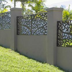 Im Freien dekoratives Aluminium-Laser-Schnitt-Panel-Laser-Schnitt-Metall rastert Verwitterung-Stahl-Bildschirme