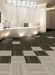 Chão de escritório decorativos de cores simples tapete colorido/Tile/Plank Carpet