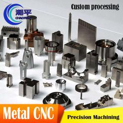 El mecanizado de piezas de la cortadora de pincel de corte láser de piezas de mecanizado CNC de servicio