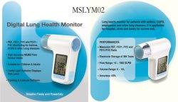 Mslym02 Portable digital inteligente espirômetro Médicas Preço / Espirômetro Bluetooth do dispositivo portátil