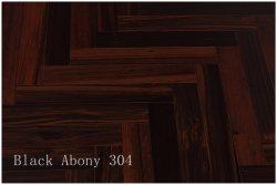 Black Ebony, Rosewood Harringbone pisos de madeira projetadas Lacqure UV