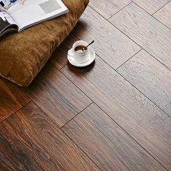 Bom preço fábrica Madeira Cor SPC LVT azulejos de Vinyl Camada de desgaste de 0,5 mm, pavimento Plank PVC com base/clique seco Pisos para o Hotel Home