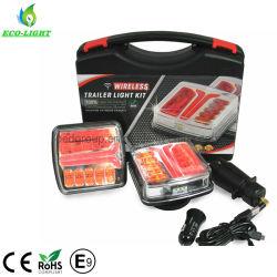 Se aplica a los tractores Turismos remolcador y E9 Emark Ce RoHS magnético con el transmisor inalámbrico el Kit de luz LED de remolque
