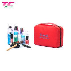 6 couleurs Organisateur de Voyage Sac de rangement salle de bains de lavage DIRECTEMENT USINE, imprimé personnalisé Sac cosmétique pendaison Sac de Toilette