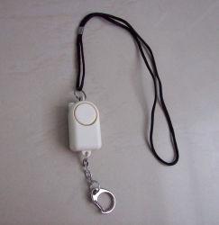 キーホルダーライト警報装置を持つSelf-defense Protection Alarm個人的なアラーム女性