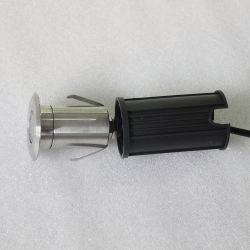 Bewertung IP-IP68 und Pool-Licht-Feld-Typ 1W Mini-LED heller UnterwasserEdelstahl