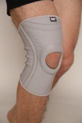 Soporte de rodilla, estabilizador y Airprene Open-Patella Fully-Adjustable puntal