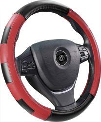 Two-Color couture en cuir respirant capot de voiture volant de direction