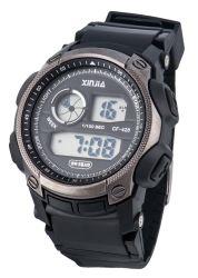 2019 Últimas reloj deportivo con encanto, carcasa de plástico ver 5ATM Water-Resistant