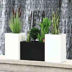 Aluminium bloempotten/lange bloempotten voor buiten- of binnendecoratie