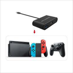 C에게 Nintendo 스위치 장치를 위한 영상 변환기 접합기 관제사/텔레비젼 변환기를 타자를 치십시오