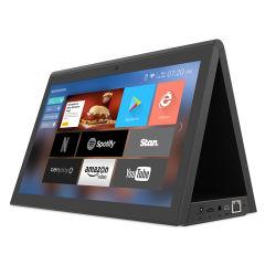 새로운 디자인 듀얼 OS 10인치 듀얼 스크린 디지털 사이니지 Android 태블릿