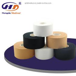 Cotone Rayon Medical Supply Zinc ossido reggiatura bendaggio Sport Atletica Nastro per il fitness