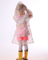 Made in China Outdoor Mountaineering EVA Thickened Children Fashion Kid Giacca impermeabile ragazza