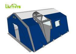 White abrigos médicos do Hospital de emergência insufláveis tendas, Airtseal tenda tenda hermética, Desinfecção insuflável tenda