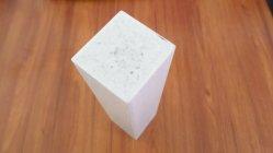 75X75mm weißes glattes OberflächenPultruded Profil-Fiberglas fester quadratischer Rod