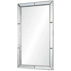 3D de fantasía elegante vestir Muebles Decoración de vidrio colgado de la vanidad de baño espejo de pared (2)