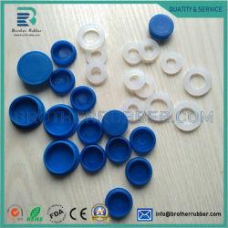 2mm 3 mm a 4 mm Custom Grau Alimentício tampão de silicone à prova o bujão do orifício