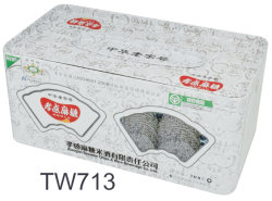 선물 박하 둥근 담배 금속 티슈 페이퍼 주석 상자