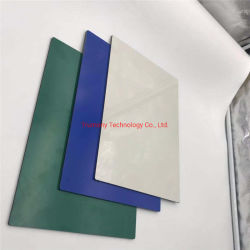 Blanc de 4 mm ACP PVDF revêtement Panneau mural composite aluminium à usage industriel