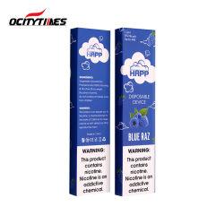 300 inhalaciones de Vapor Stick marca OEM Vape Pen E-cigarrillo desechable mayorista