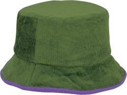 羊毛のライニングのコーデュロイの冬の多彩な方法バケツの帽子