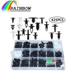 Commerce de gros prix d'usine OEM Fixations auto des clips en plastique de couleur