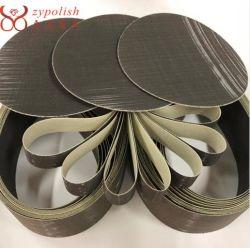 Zypolak je-Weight 3D schuurband equivalent aan 3m Trizact 307ea voor het polijsten van roestvrij staal