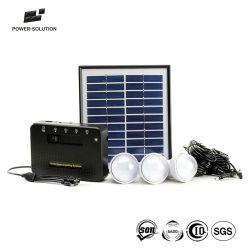 4 واط اللوحة الشمسية 3PCS 1W مصابيح LED SMD المجموعة الشمسية مع وظيفة شاحن الهاتف