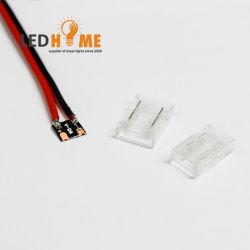 Ficha do conector Solder-Free e fácil para a faixa de LED SMD simples